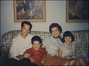 "Billy Mize and his wife Martha and their family in ""Billy Mize and the Bakersfield Sound"""