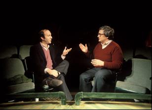 """Gene Siskel and Roger Ebert in """"Life Itself"""""""