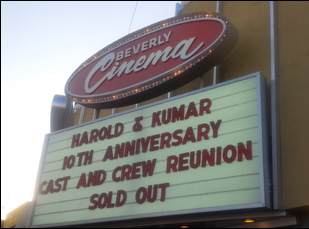 Harold and Kumar Go to White Castle at the New Beverly Cinema