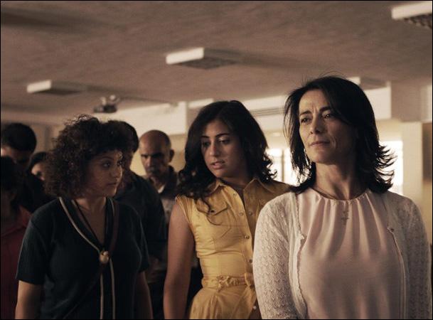 """Hiam Abbass, Alia Shawkat in """"May in the Summer"""""""