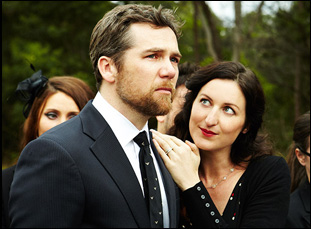 "Kate Box and Patrick Brammall in ""The Little Death"""