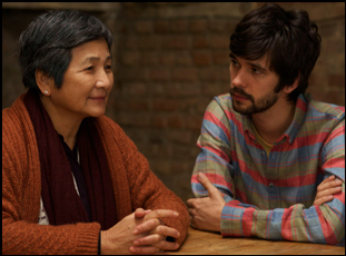 """Pei Pei Cheng and Ben Whishaw in """"Lilting"""""""