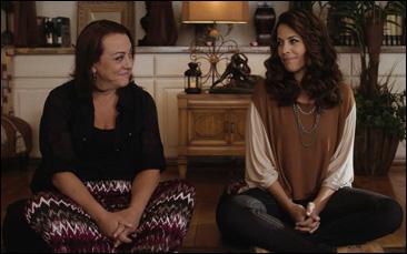 "Tara Karsian and Andrea Grano in ""BFFs"""