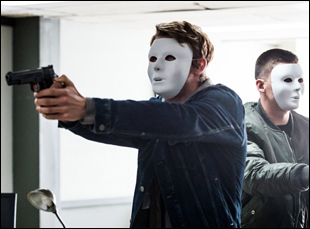 "Luke Mitchell and Zane Holtz in ""7 Minutes"""