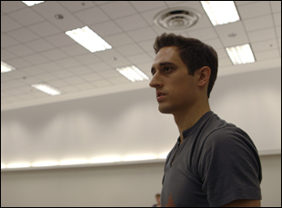 "Justin Peck in ""Ballet 422"""