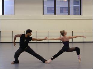 """A scene from Jody Lee Lipes' """"Ballet 422"""""""