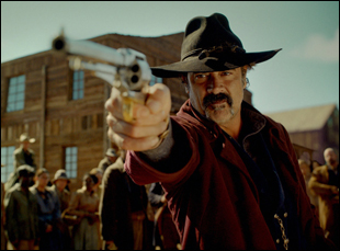 "Jeffrey Dean Morgan in ""The Salvation"""