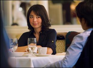 """Ayako Fujitani in """"Man From Reno"""""""