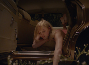 "Maika Monroe in ""It Follows"""