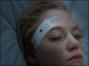 "Maika Monroe in ""It Follows"""