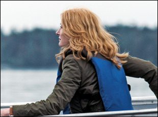 """Patricia Clarkson in """"October Gale"""""""