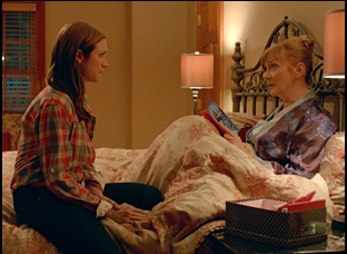 """Brittany Snow and Glenne Headley in """"Dial-A-Prayer"""""""