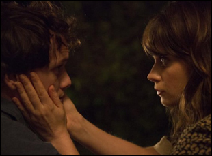 "Anton Yelchin and Zooey Deschanel in ""The Driftless Area"""