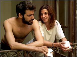 "David Verdaguer and Natalia Tena in ""10,000 KM (Long Distance)"""