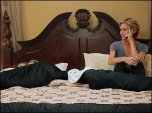 "Karen Sillas and Yvonne Jung in ""Stuff"""