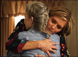 "Karen Sillas and Phyllis Somerville in ""Stuff"""