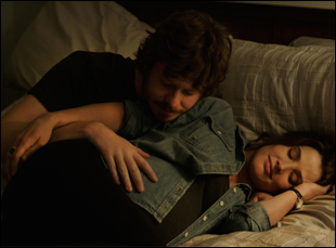 "Cobie Smulders and Anders Holm in ""Unexpected"""