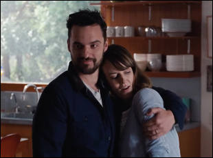 """Jake Johnson and Rosemarie DeWitt in """"Digging for Fire"""""""