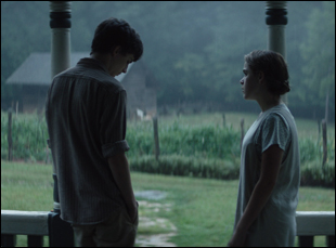 "Timothee Chalamet and Kiernan Shipka in ""One & Two"""