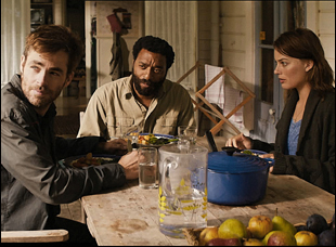 "Chris Pine, Chiwetel Ejiofor and Margot Robbie in ""Z for Zachariah"""