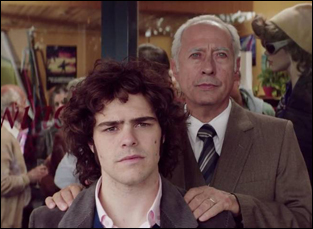 "Guillermo Francella and Peter Lanzani in ""The Clan"""
