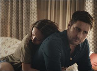 "Olivia Wilde and Luke Wilson in ""Meadowland"""