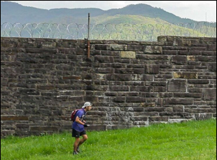 "A scene from ""The Barkley Marathons"""
