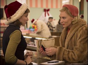 """Rooney Mara and Cate Blanchett in """"Carol"""""""