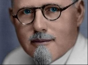 """John R. Brinkley in """"Nuts!"""""""