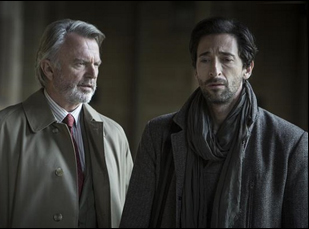 "Sam Neill and Adrien Brody in ""Backtrack"""