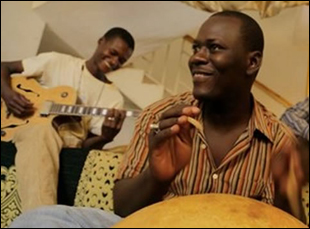 "Songhoy Blues in ""They Will Have to Kill Us First"""