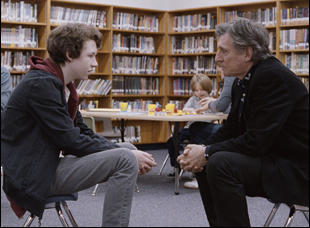 """Devin Druid and Gabriel Byrne in """"Louder Than Bombs"""""""