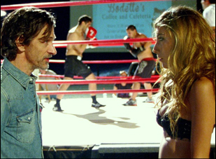 "John Hawkes and Dichen Lachman in ""Too Late"""