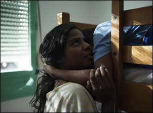 "Claudine Vinasithamby in ""Dheepan"""