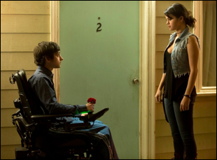 "Craig Roberts and Selena Gomez in ""The Fundamentals of Caring"""