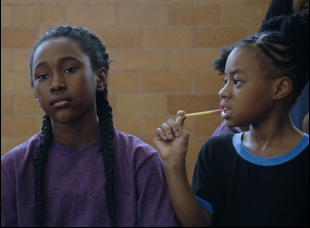 "Royalty Hightower and Alexis Neblett in ""The Fits"""