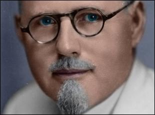 """John R. Brinkley in """"Nuts"""""""