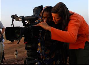 """Kirsten Johnson in """"Cameraperson"""""""