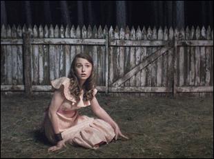 """Bethany Whitmore in """"Girl Asleep"""""""