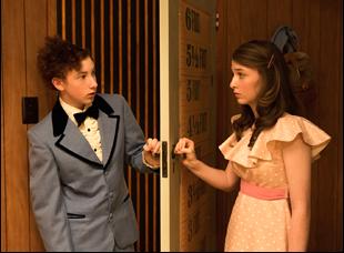 "Harrison Feldman and Bethany Whitmore in ""Girl Asleep"""