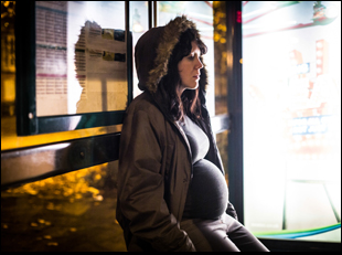 "Alice Lowe in ""Prevenge"""