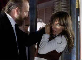 """Jim Beaver and Jocelin Donahue in """"The Frontier"""""""