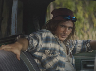 """James Franco in Ian Olds' """"Burn Country"""""""