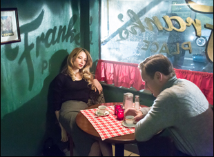 """Haley Bennett and Patrick Wilson in """"A Kind of Murder"""""""