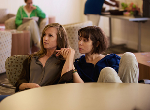 """Holly Hunter and Cristin Miliotti in """"Breakable You"""""""