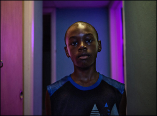 "Alex Hibbert in ""Moonlight"""