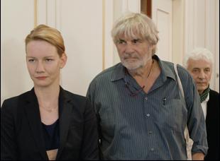 """Peter Simonischek and Sandra Huller in """"Toni Erdmann"""""""