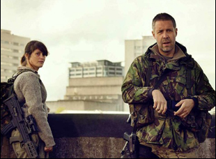 """Gemma Arterton and Paddy Considine in """"The Girl With All the Gifts"""""""