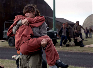 "Gemma Arterton and Sennia Nanua in ""The Girl With All the Gifts"""