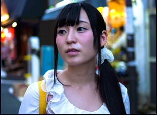 "A scene from Kyoko Miyake's ""Tokyo Idols"""